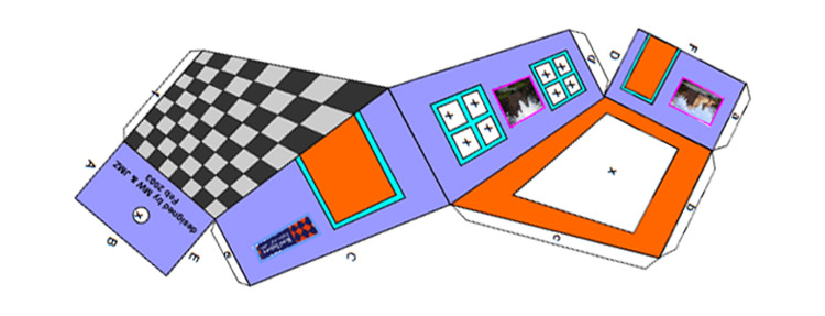 Download and Build Your own The Ames Room Illusion!!