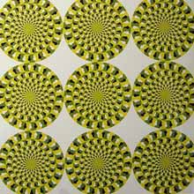 multiple circle illusion