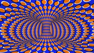 swimming pattern illusions
