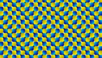 swimming pattern illusion